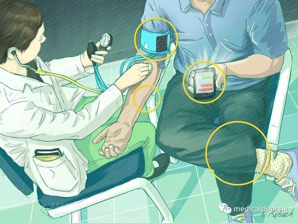 医学生未能应对血压测试挑战 Medical Students Fall Short on Blood Pressure Check Challenge 美国医学插画师协会 2018 沙龙展